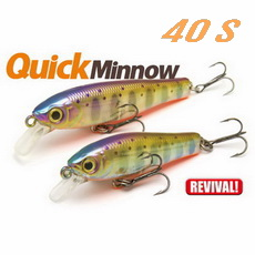 Воблеры Skagit Designs Quick Minnow 40 S