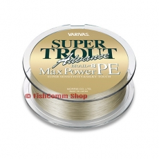 Плетеные шнуры Varivas Advance Super Trout Max Power (PE8) Gray 150 m