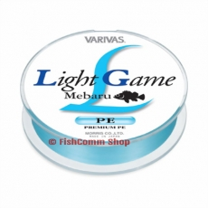 Плетеные шнуры Varivas Light Game Mebaru Blue