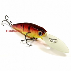 Воблер Lucky Craft Bevy Shad MK-II 60DD-082 Fire Tiger