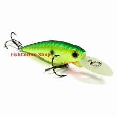 Воблер Lucky Craft Bevy Shad MK-II 60SP-111, Peacock