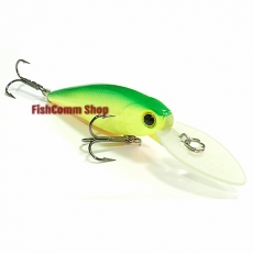 Воблер Lucky Craft Bevy Shad MK-II 60SP-133, Green Lime Chart