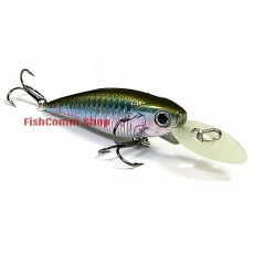 Воблер Lucky Craft Bevy Shad MK-II 60SP-277, MJ Aurora Brown