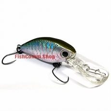 Воблер Lucky Craft Flat Cra-Pea DR-0596 Bait Fish Silver 254