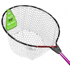 Подсачек Tsuribito Net Trap with silicone Net 119 см. диаметр 45 см.