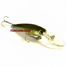 Воблер Lucky Craft Bevy Shad MK-II 60DD-133 Green Lime Chart