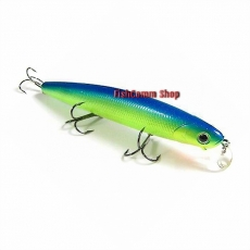 Воблер Lucky Craft Flash Minnow 110SP-263 Chartreuse Blue