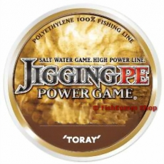 Плетеные шнуры Toray Jigging PE Power Game