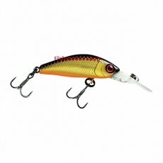 Воблер Jackall Diving Chubby Minnow 35 SP Hl Gold & Black